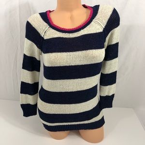 [Cable & Guage] Striped Sweater